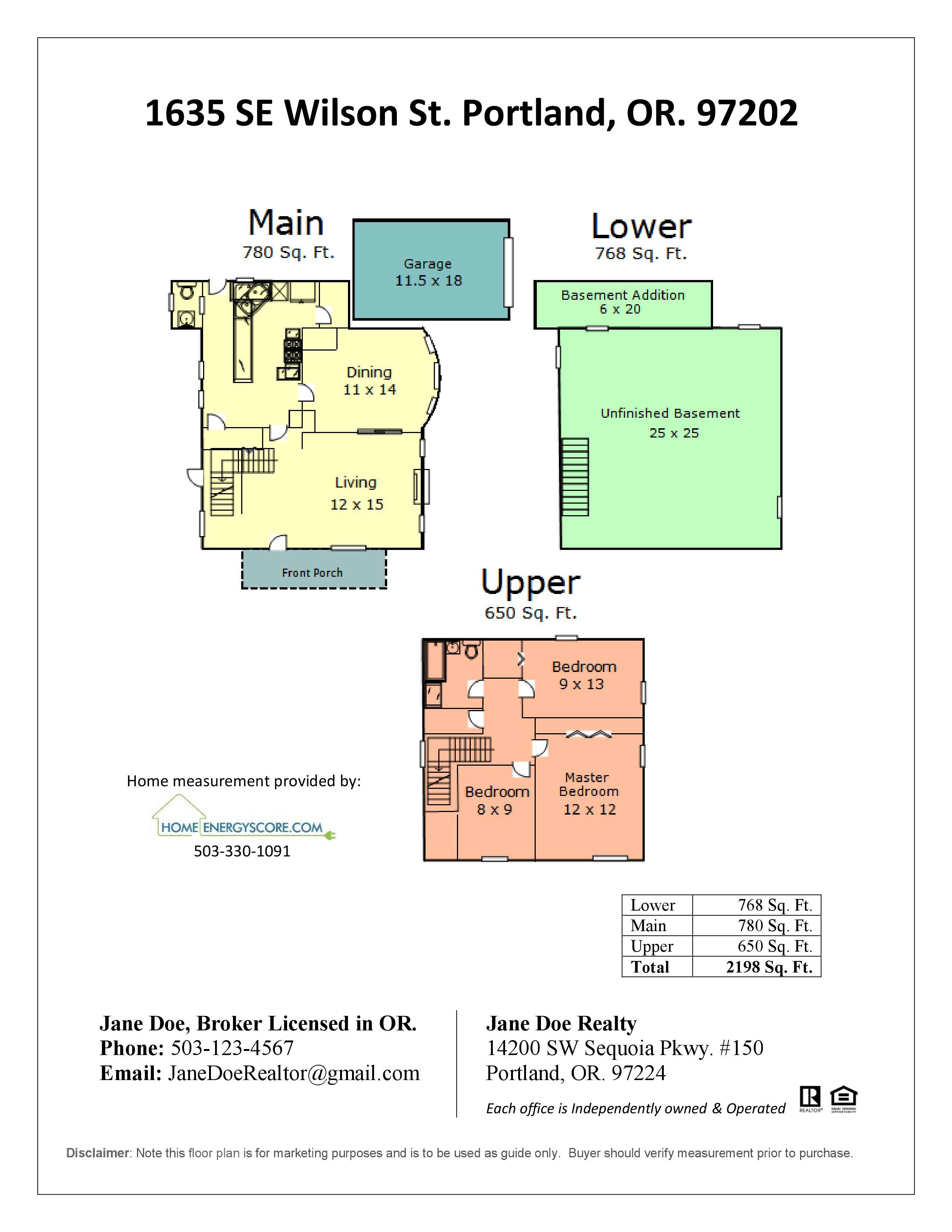 Floor Plans Home Energy Score – Us Home Floor Plans